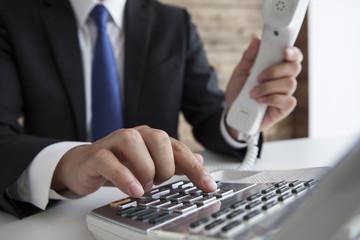 ビジネスフォンで「外線」をかける時は、まず「外線ボタン」を押す